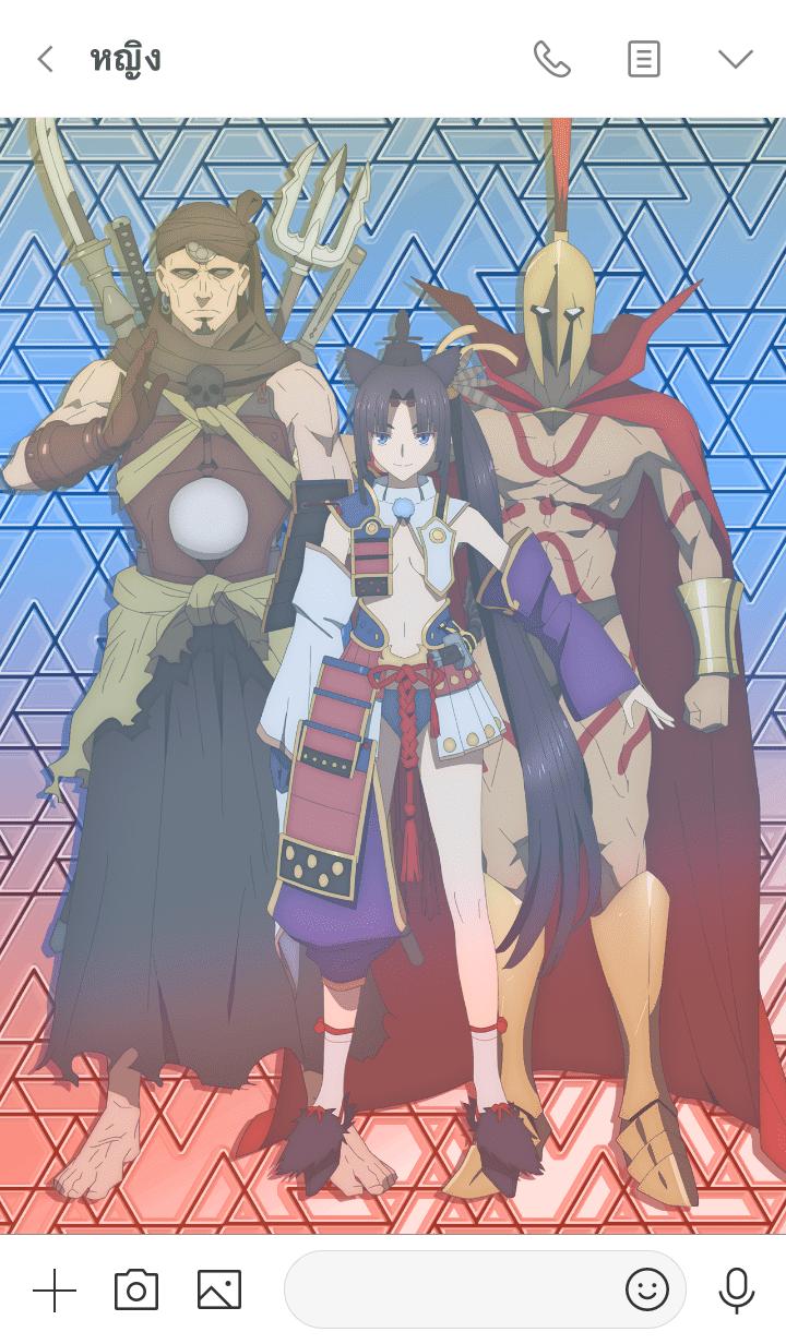 ธีมไลน์ Fate/Grand Order:Babylonia 8