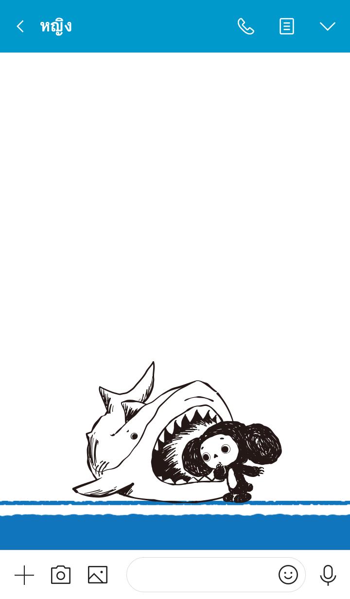 ธีมไลน์ Cheburashka x Rough touch