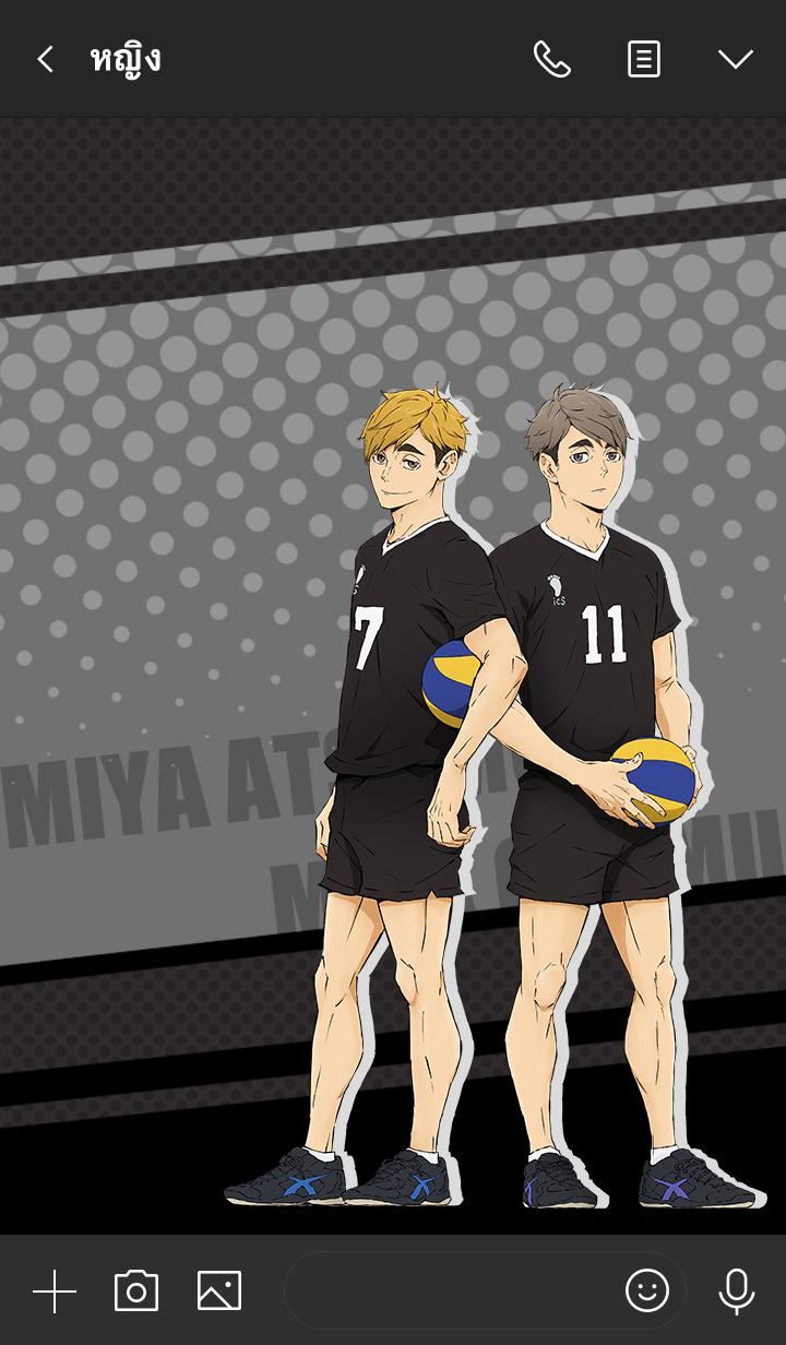 ธีมไลน์ Inarizaki Miya Atsumu&Osamu