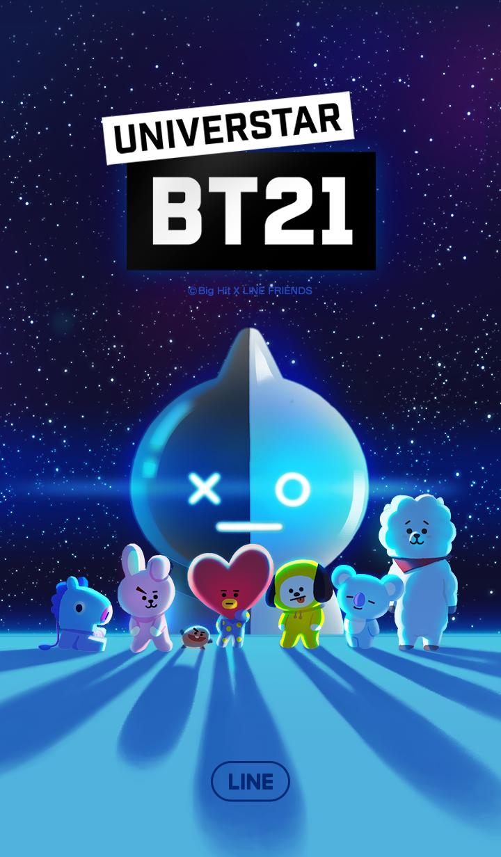 ธีมไลน์ UNIVERSTAR BT21 ดาวดวงใหม่มาแล้วจ้า