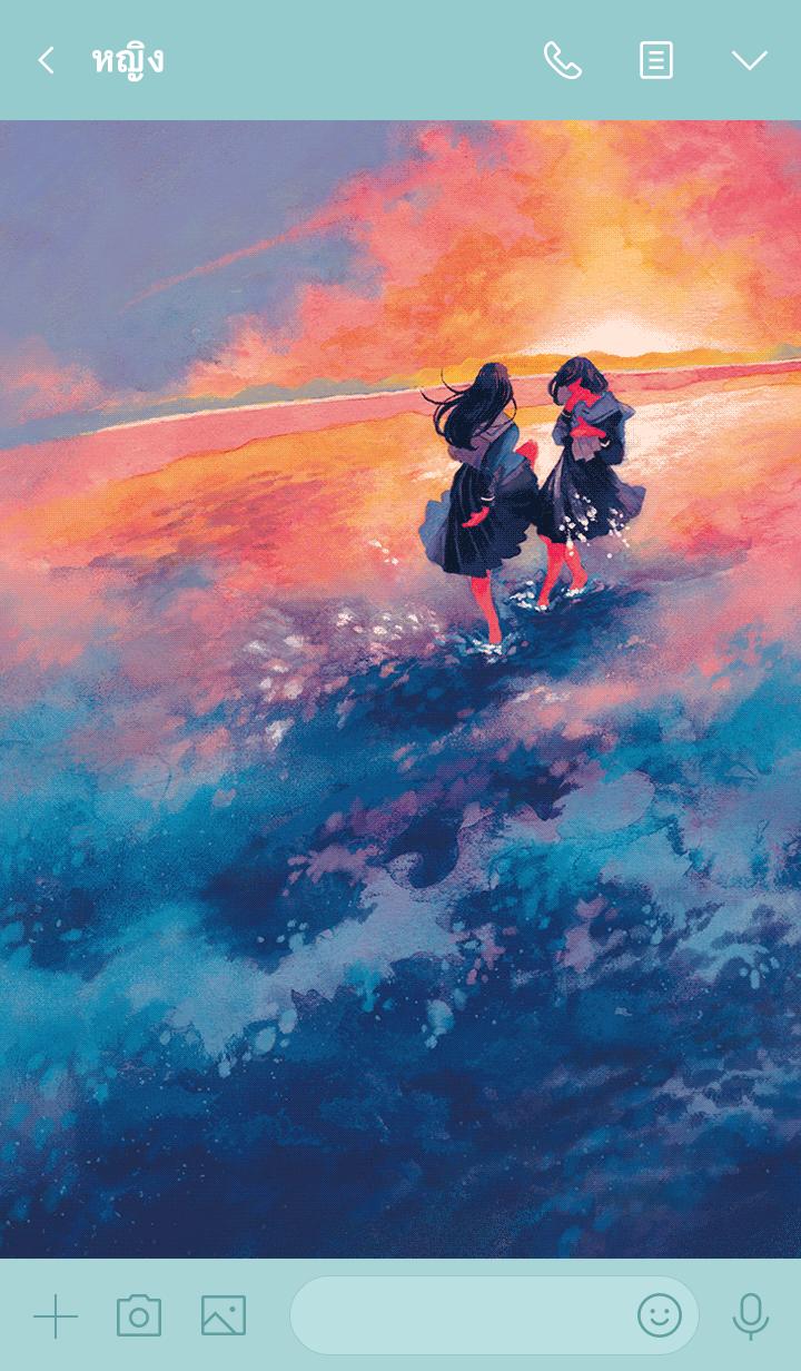 ธีมไลน์ DAYDREAM by Atsuki Ito