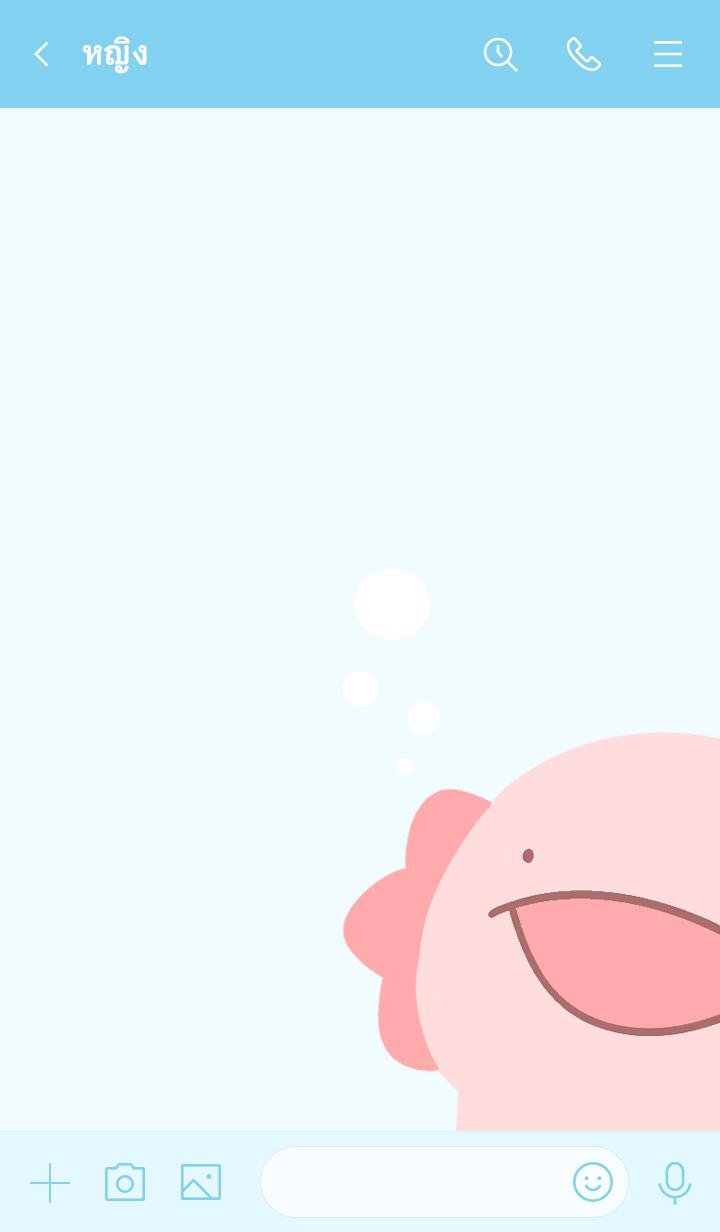ธีมไลน์ Axolotl Theme