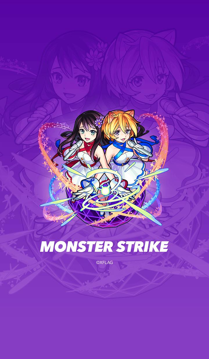 ธีมไลน์ MONSTER STRIKE Two for all
