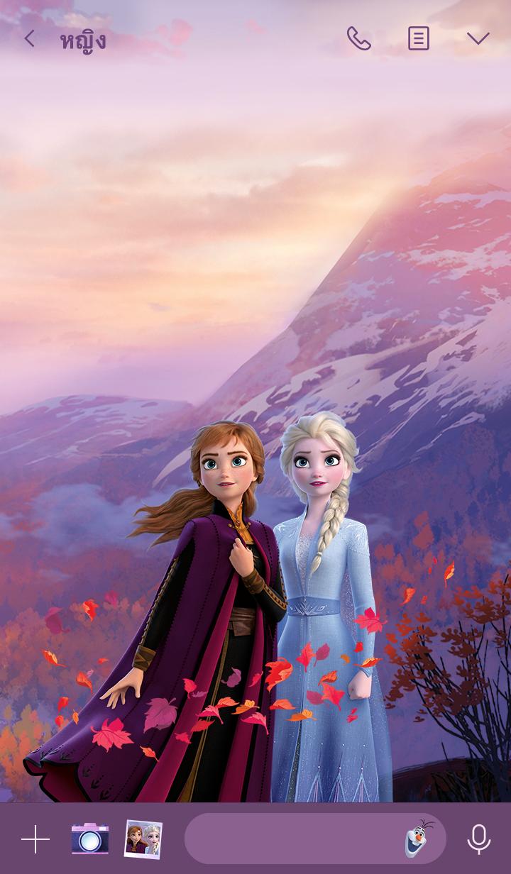 ธีมไลน์ Frozen 2