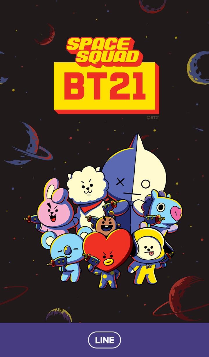 ธีมไลน์ BT21 SPACE☆SQUAD