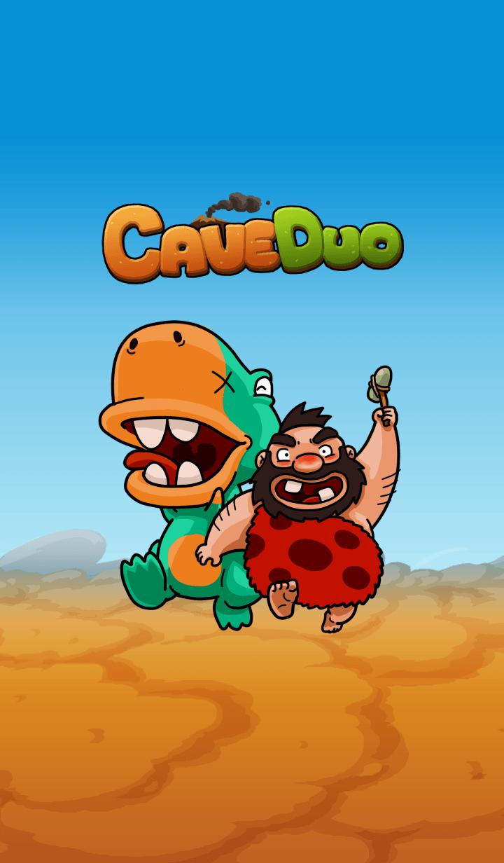 ธีมไลน์ Cave Duo
