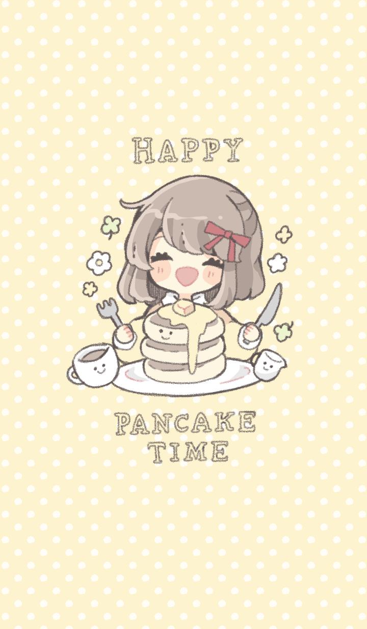 ธีมไลน์ Pancake time