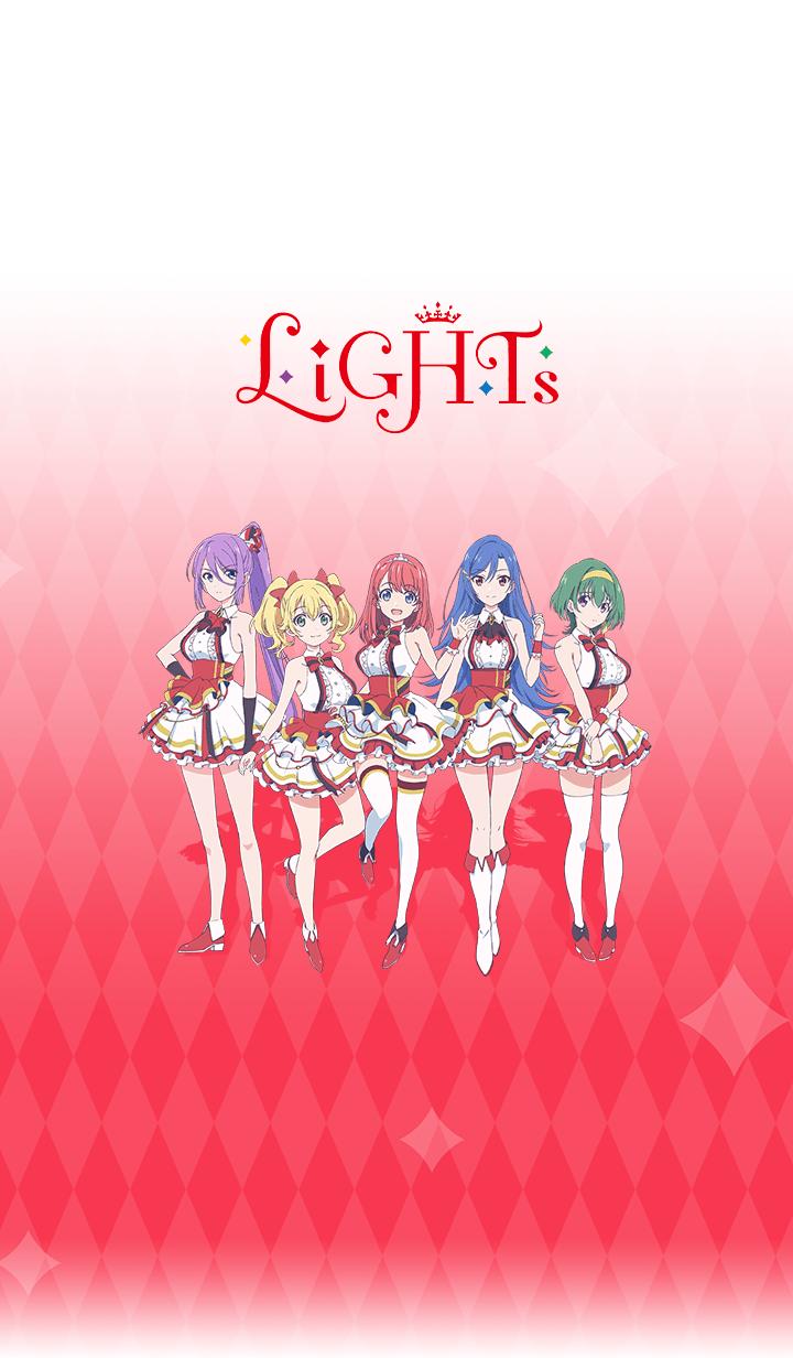 ธีมไลน์ Lapis Re:LiGHTs LiGHTs ver.