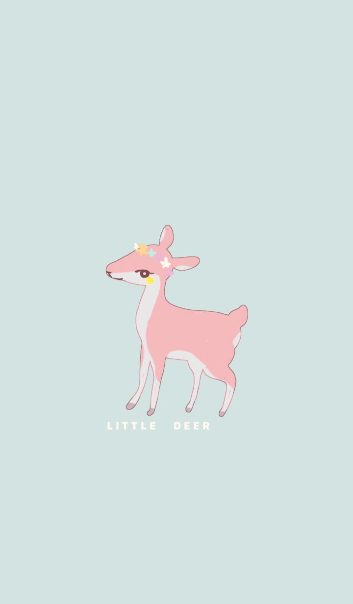 ธีมไลน์ Little pink Deer