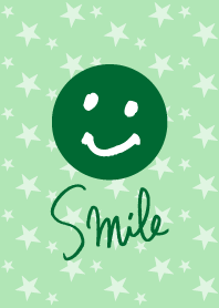 Star smile - Green-