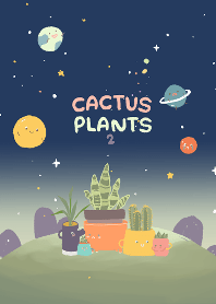 Galaxy Cactus Plants : Dark