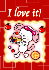 Dog with Ribbon (SWEETS)