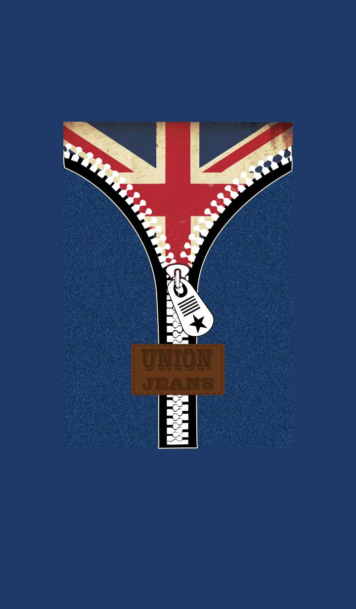 Union Navy Jeans