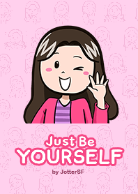 Just Be Yourself 2016 | JotterSF| elPortale | Sell LINE Sticker, Sell LINE Theme