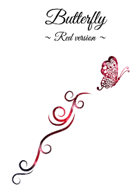 Butterfly Red version