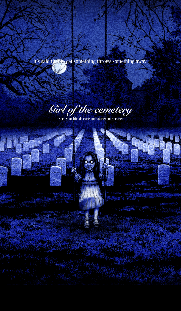 Girl of the cemetery