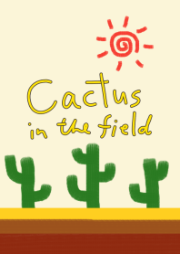 Cactus in the field