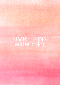 simple water pink color