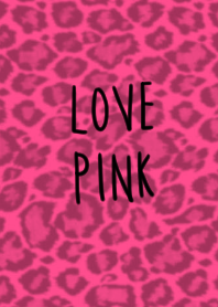 Pink and the leopard pattern
