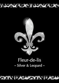 Fleur-de-lis ''Silver & Leopard''