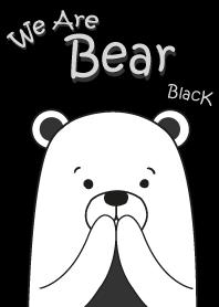 ธีมหมีน้อย สีดำ