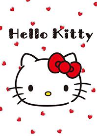 凱蒂貓 愛心與格紋
