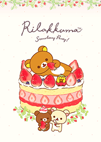 Rilakkuma Strawberry Party