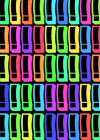 Colorful surprise mark