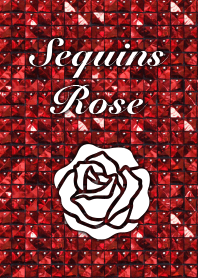 Sequins Rose-Red