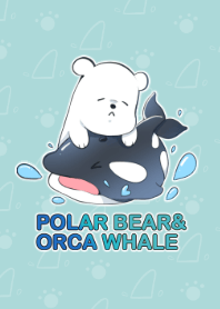 Polar Bear and Orca Whale