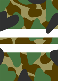 Two lines. camouflage