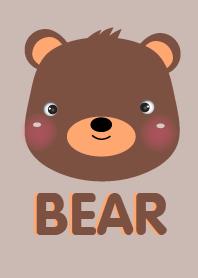 Simple Cute Bear Face v.1