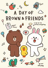 วันสนุกๆ ของ BROWN&FRIENDS