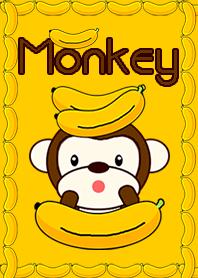 New Monkey with bananas