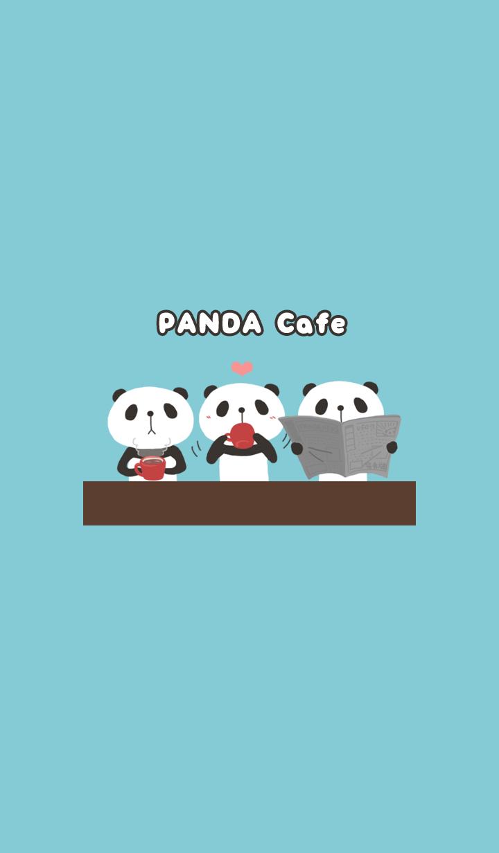 【主題】panda cafe