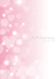 Fluffy Pink Heart...