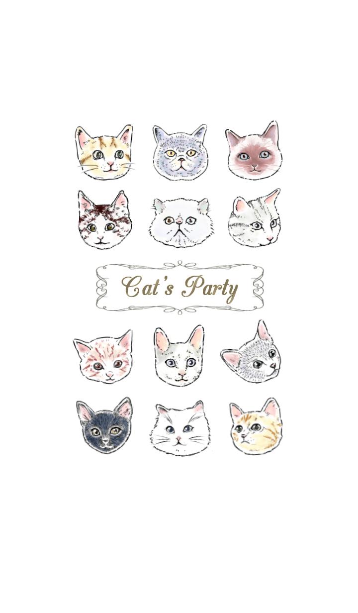 【主題】Cat's Party ~Fashionable version~