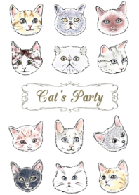 Cat's Party ~Fashionable version~