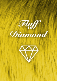 Fluff Diamond- Yellow