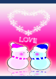 as proof of love.(snowman4)