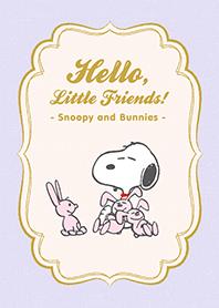 Snoopy & Bunnies