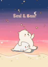 odd lover seal and bear