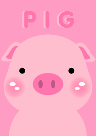 Simple Pink Pig theme v.2