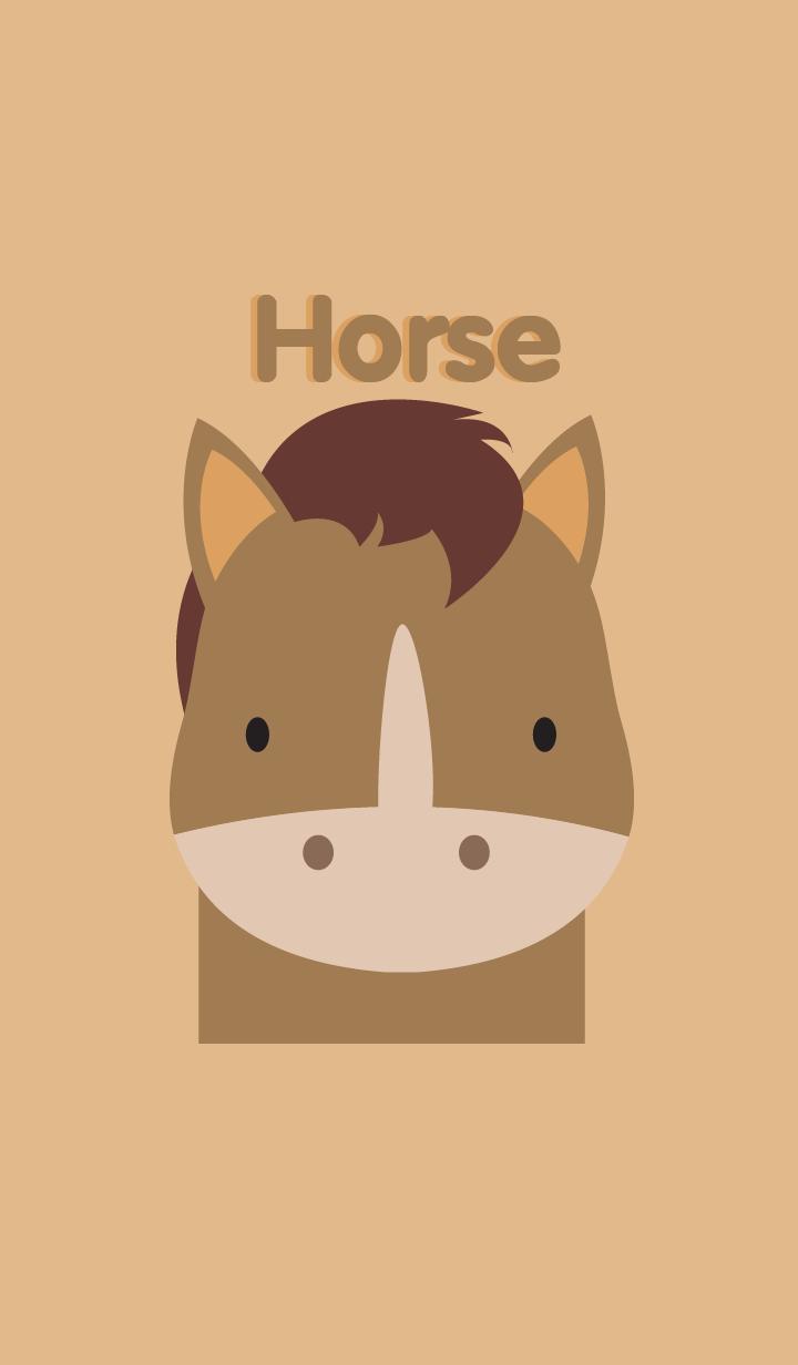 Simple Horse