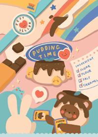 pudding time !