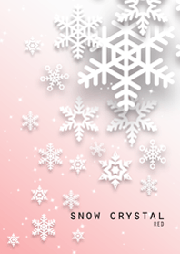 snow crystal [red]