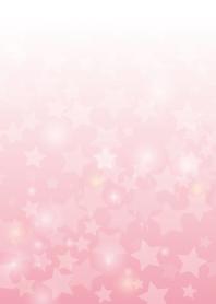 pink small stars