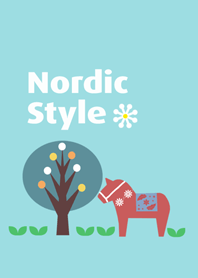 Cute Nordic Style Theme