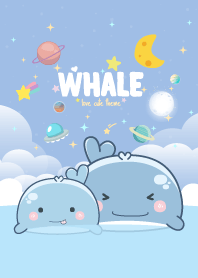 วาฬ น่าร๊ากกก สีน้ำทะเล
