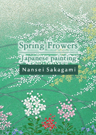 ธีมไลน์ Spring Flowers -Japanese painting-